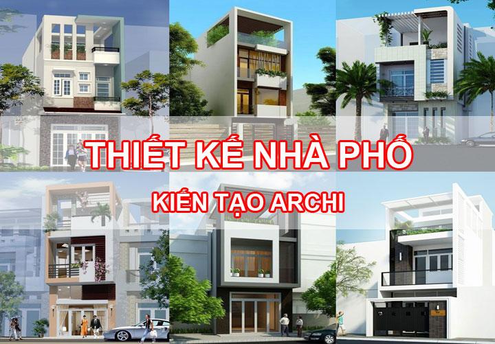 thiết kế nhà phố chuyên nghiệp